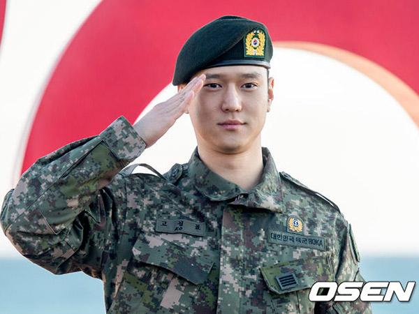 Go Kyung Pyo Resmi Bebas Wajib Militer Hari Ini