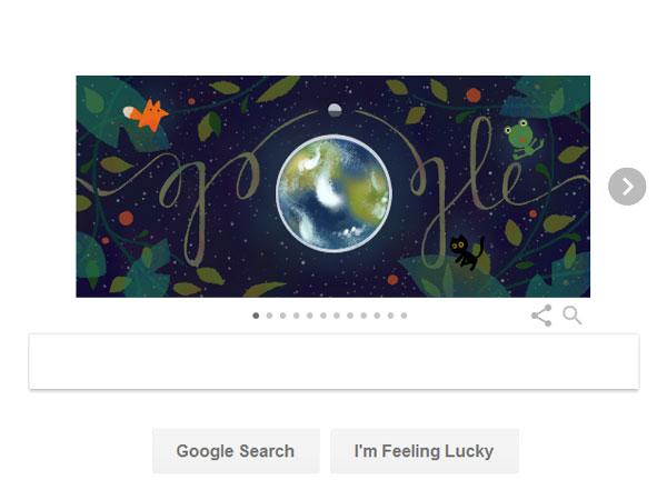 Peringati Hari Bumi, Google Bagikan Tips Merawat Lingkungan Lewat Doodle