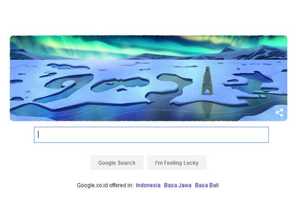 Rayakan Hari Bumi Internasional, Google Buat Lima Doodle Sekaligus