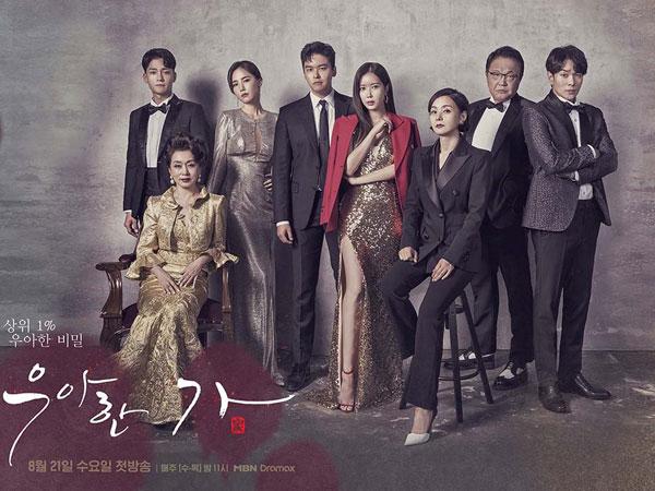 Jadi Drama MBN dengan Rating Tertinggi, Pemain dan Kru 'Graceful Family' Dapat Hadiah Liburan