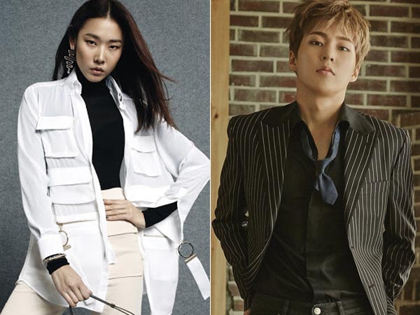 Akui Suka EXO, Model Populer Korea Ini Kembali Tunjukan Jiwa Fangirl-nya untuk Xiumin!