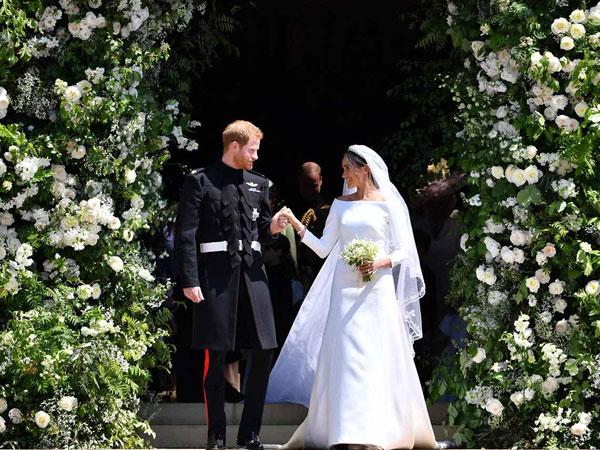 Sukacita Warga Inggris Iringi Hari Bahagia Pangeran Harry dan Meghan Markle