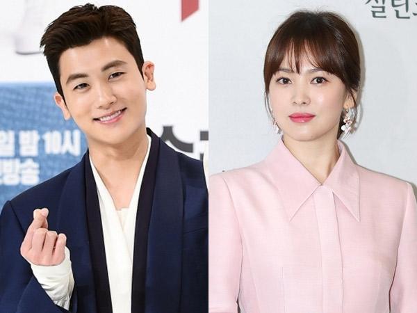 Hyungsik Pamer Dukungan dari Song Hye Kyo di Lokasi Syuting 'Suits', Captionnya Kocak!