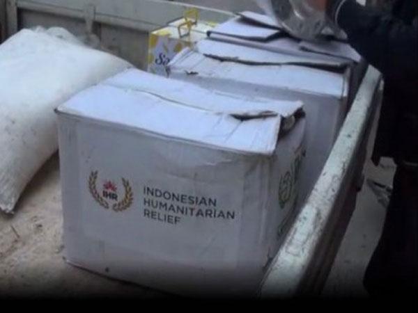 Sampai di Tangan Pemberontak, Bantuan Indonesia untuk Suriah Ini Hebohkan Netizen