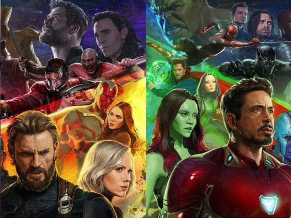 Heboh Ada Perubahan di Poster Kumpul Super Hero 'Avengers: Infinity War', Ada yang Sadar?