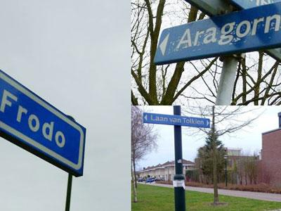 Wah, Tokoh Lord of The Rings Digunakan Nama Jalan