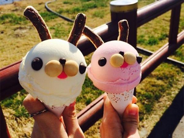Mencicipi Es Kelinci di Kafe ChiChiPong yang Punya Pemandangan Indah Jeju