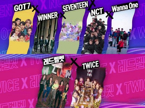 SBS Gayo Daejun 2018 Umumkan Kolaborasi Akbar dari Sederet Group K-Pop