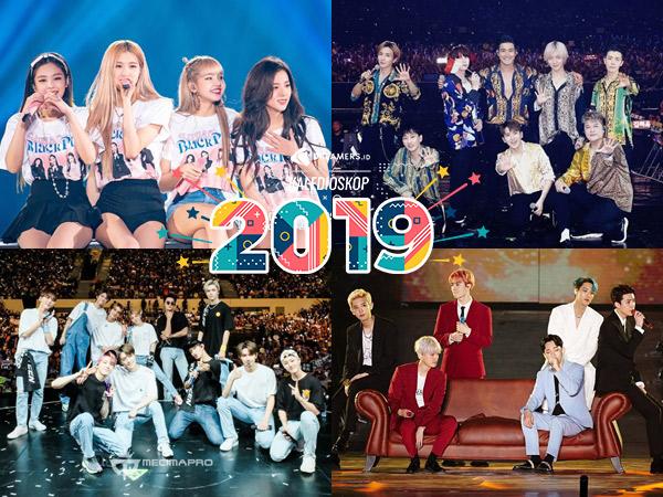 Super Ramai, Inilah Konser dan Fan Meeting Artis Korea di Indonesia Sepanjang 2019