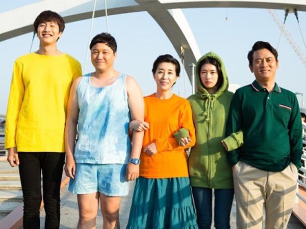 Hari Terakhir Syuting, Lee Kwang Soo 'Foto Mesra' Dengan Para Pemain 'The Sound of Your Hearts'
