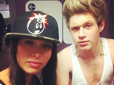 Wah, Pacar Seksi Niall Horan One Direction Diteror Oleh Haters!