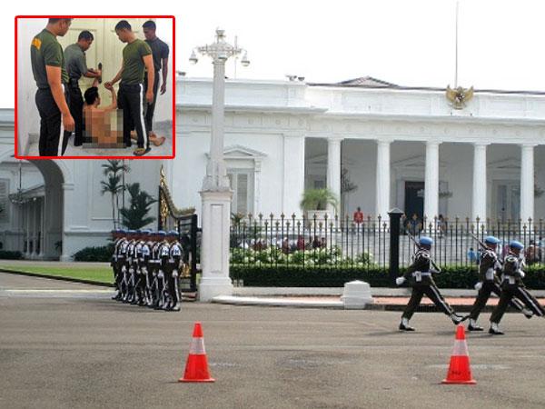 Fakta Terbaru dari Pria Bugil yang Nekat Terobos Masuk Istana Negara