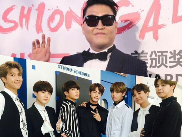 Pujian dan Nasihat Bijak PSY untuk BTS yang Makin Populer di Luar Negeri