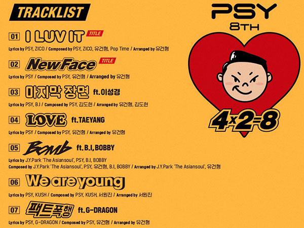 G-Dragon Hingga Zico Isi Deretan Kolaborasi Apik di Album Comeback PSY!