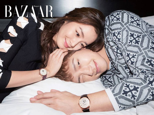 Cerita Seputar Pernikahan, Manisnya Rain dan Kim Tae Hee di Couple Photoshoot Pertamanya!