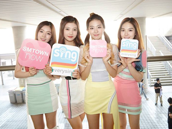 Belum Sebulan Debut, Red Velvet Masuk di Nominasi Juara Satu SBS 'Inkigayo'!