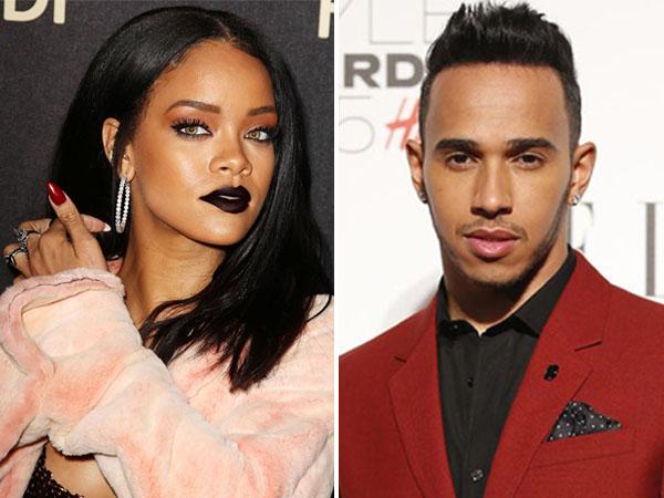 Liburan Bareng, Rihanna dan Lewis Hamilton Pacaran?
