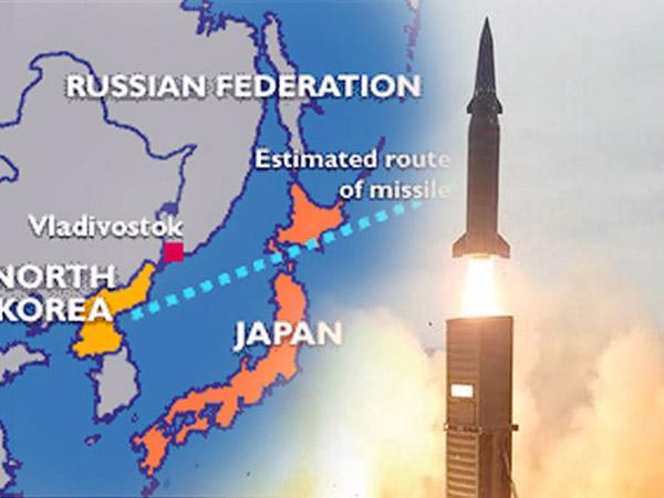 Korea Utara Kembali Tembakkan Rudal di Langit Jepang dengan Daya Jangkau Lebih Jauh