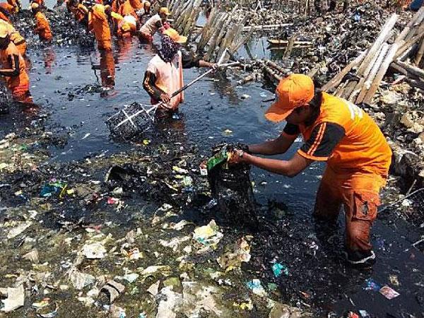 Kata Pihak Bekasi yang Dituding Jadi Penyumbang Sampah di Muara Angke oleh Gubernur Anies