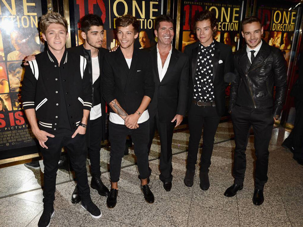 Simon Cowell Prediksi One Direction Reuni 5 Tahun Lagi