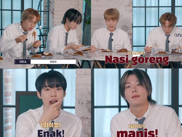 Member NCT Cobain Makanan Khas Indonesia Hingga Camilan A La Iklan
