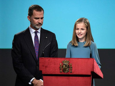 Kenalan dengan Putri Leonor, Gadis Cilik Sang Pewaris Takhta Kerajaan Spanyol