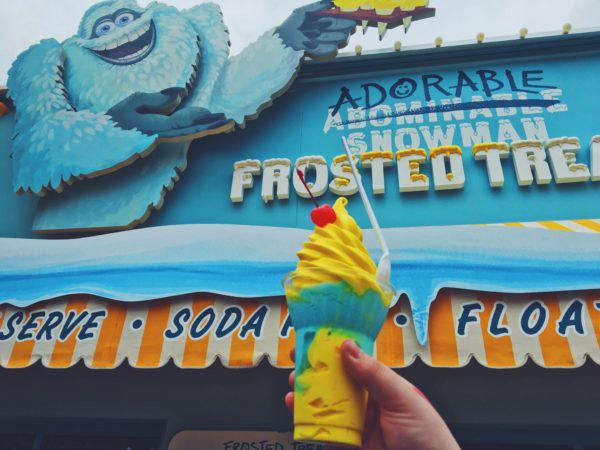 Mencicipi Kecerahan Sekaligus Kesegaran Es Krim Unik di Disney California