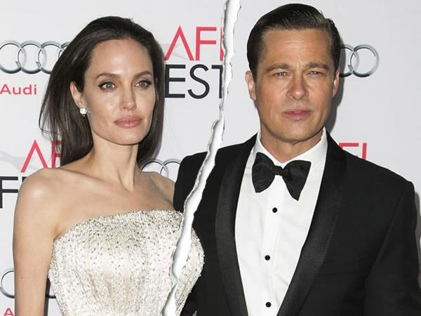 Dua Tahun Menikah, Angelina Jolie Gugat Cerai Brad Pitt!