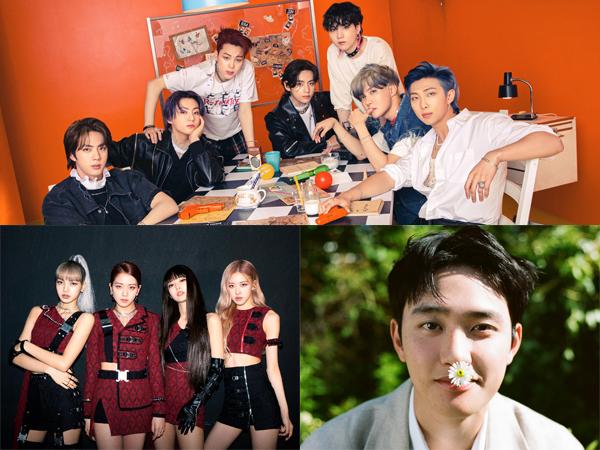 BTS Double Million, BLACKPINK Hingga D.O Dapat Sertifikasi Platinum dari Gaon