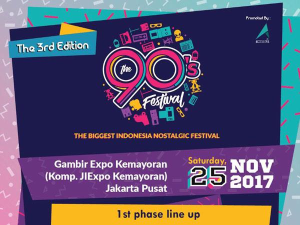 Nostalgia Manis Bareng Musisi Era 90an di 'The 90's Festival'