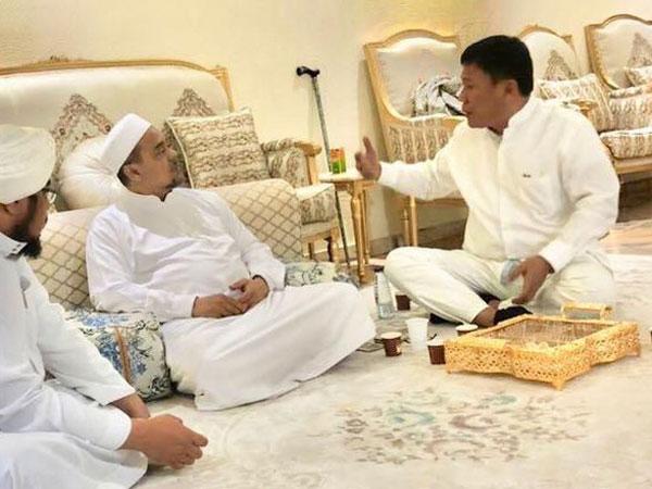 Terungkap Isi Pertemuan Habib Rizieq dengan Kader Partai Pengusung Jokowi di Mekkah