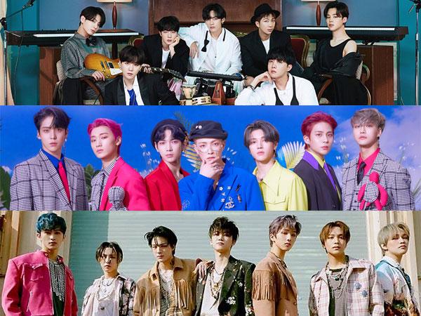 Hanteo Chart Rilis Top 50 Artis K-Pop dengan Penjualan Album Terbanyak Paruh Pertama 2021
