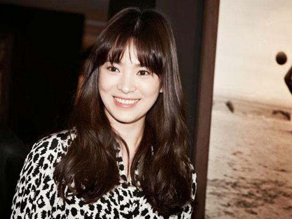 Wow, Song Hye Gyo Buat Kejutan di Set 'It's Ok, It's Love' !