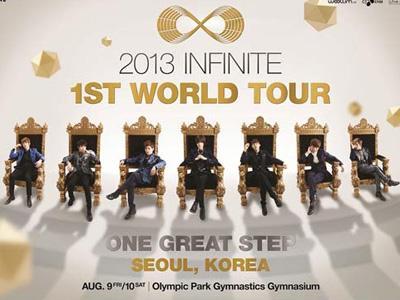 Wow, INFINITE Tampil Bak Raja di Poster Konser Tur Dunia Terbarunya!