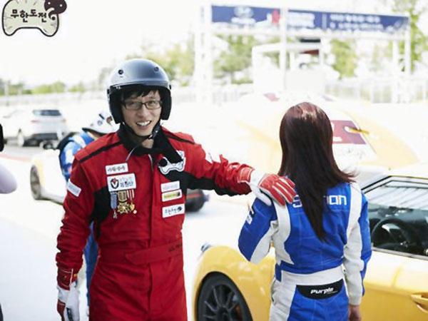Lagi, Yoo Jae Suk Terlibat Kecelakaan Mobil Saat Syuting!