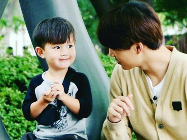 Asyik! Akhirnya Teo 'Oh! My Baby' Bertemu 'Kakak Kembarnya' Kai EXO