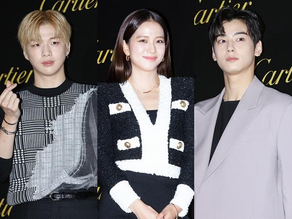 Visual Attack, Deretan Seleb Korea Menawan Hadiri Acara Brand Cartier