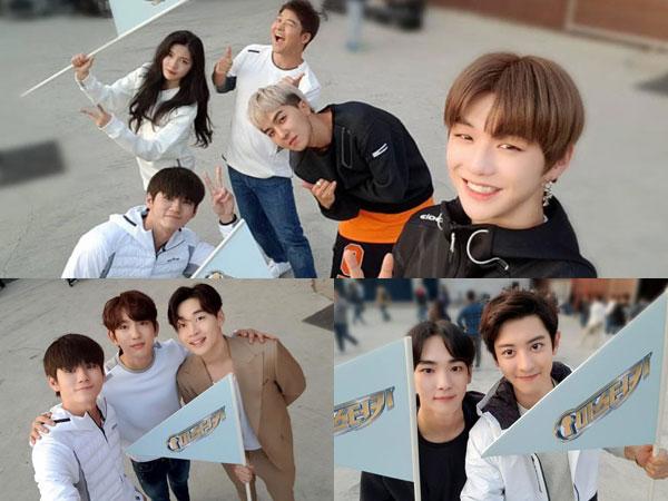 Bertabur Bintang, 'Master Key' Rilis Foto Selfie Para Membernya di Lokasi Syuting