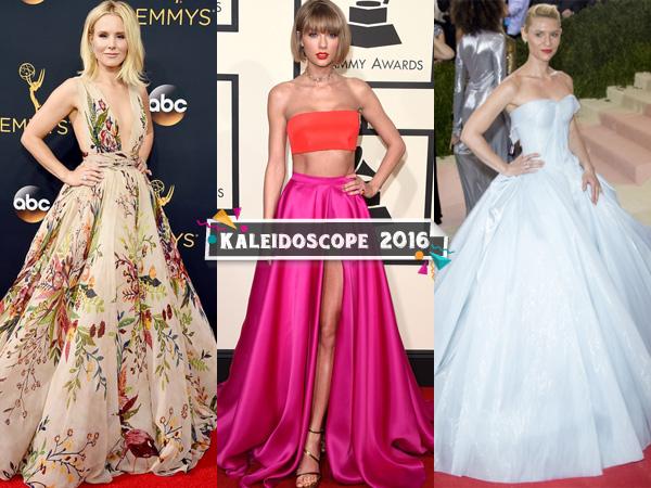 Inilah Gaun Tercantik Para Selebriti Hollywood di Red Carpet Sepanjang Tahun 2016