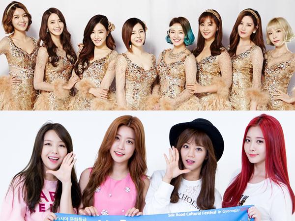 Rayakan Lengsernya Presiden, Lagu SNSD dan Girl's Day Langsung Puncaki Chart Musik!