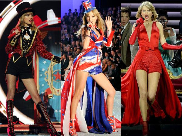Intip Kostum Terbaik Taylor Swift Saat Tampil di Atas Panggung Yuk!