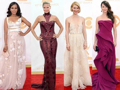 8 Gaun Tercantik Selebriti di Emmy Awards 2013