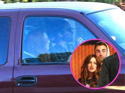 Gadis Misterius di Mobil Robert Pattinson Terungkap