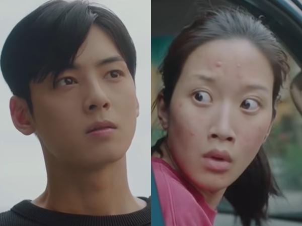 Moon Ga Young Tinggalkan Noda Make-Up di Baju Cha Eunwoo dalam Teaser 'True Beauty'