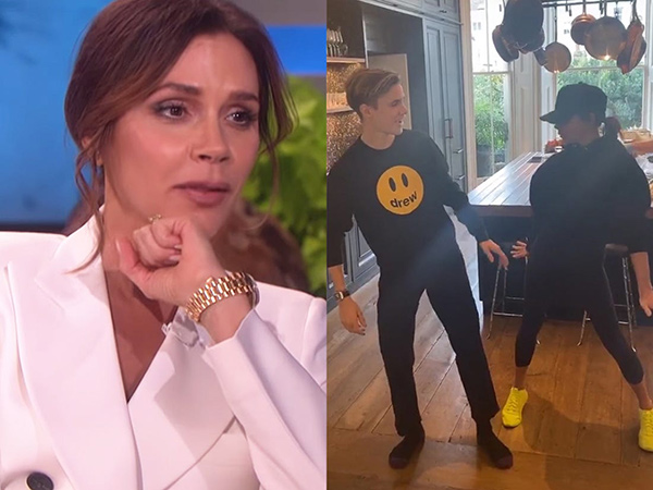 Victoria Beckham dan Putranya Tunjukkan Kelincahan Menarikan Koreografi Spice Girls