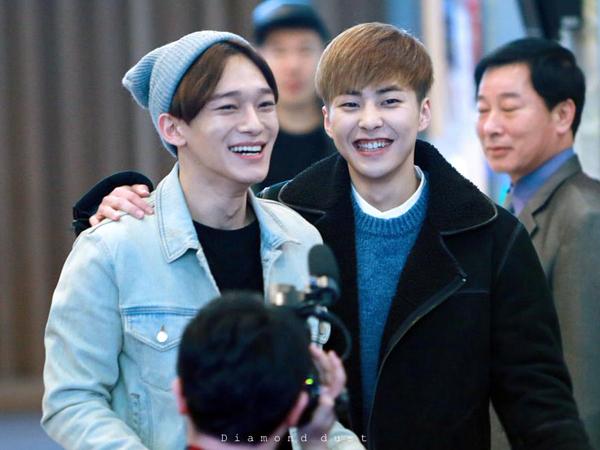 Siapa Member EXO yang Tak Ingin Dipilih Jadi Pacar Jika Xiumin dan Chen Jadi Wanita?