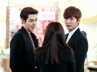 Simak Keakraban Lee Min Ho dan Kim Woo Bin di Balik Kamera