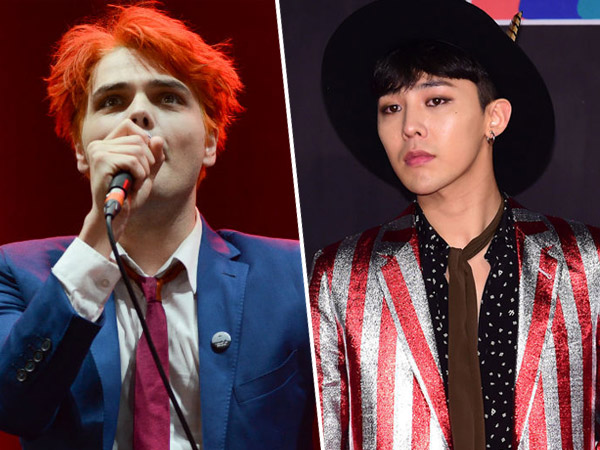 Gerard Way Eks My Chemical Romance Akui Ngefans dengan G-Dragon!