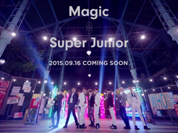 Super Junior Tampil Groovy di Teaser Video Musik 'Magic'