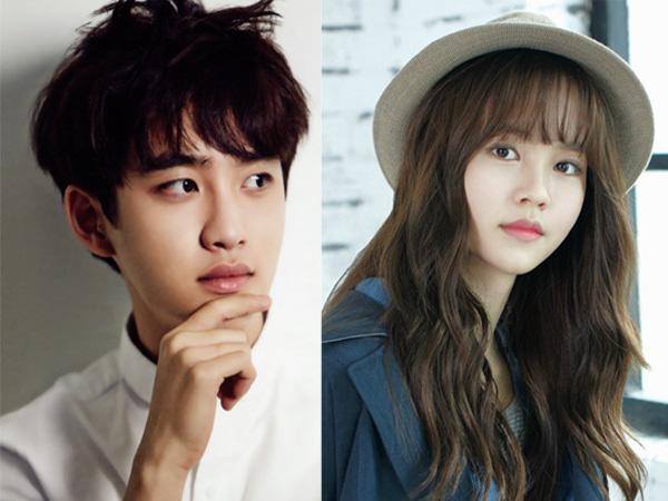 D.O EXO Mulai Terlihat Syuting 'Pure Love' dengan Kim So Hyun